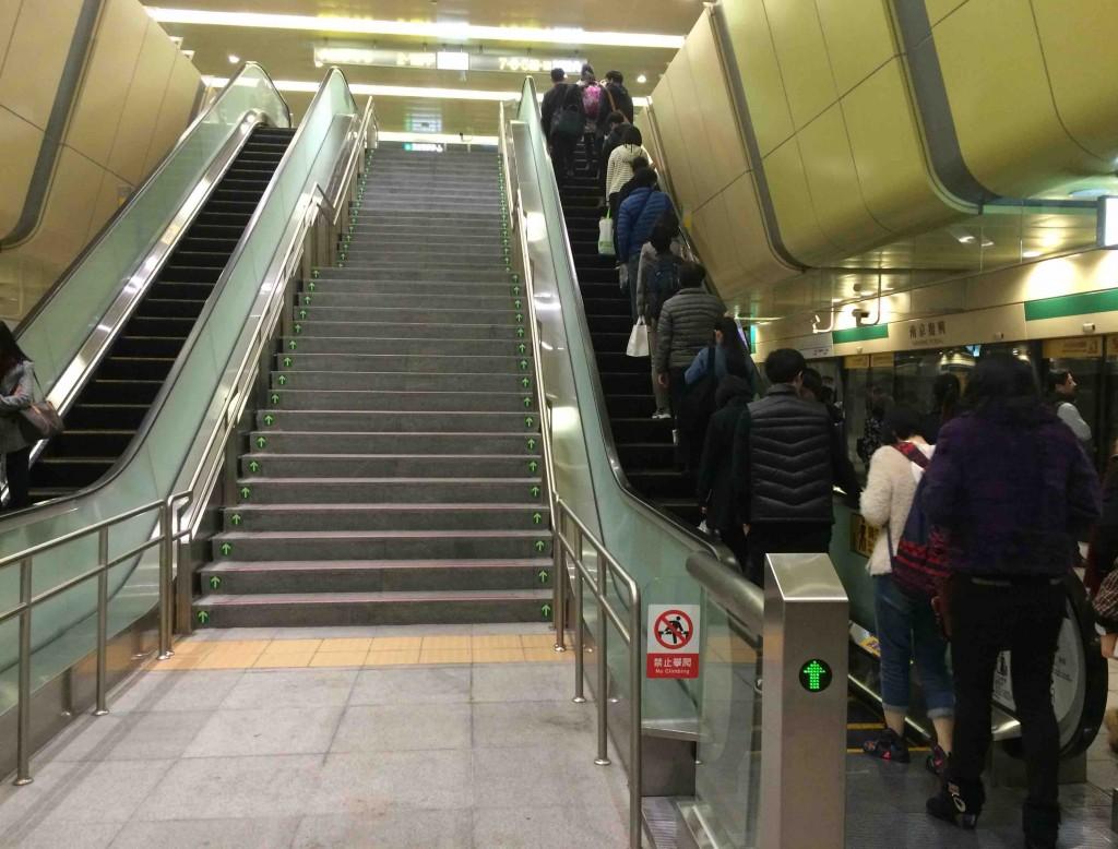 Taipei階段